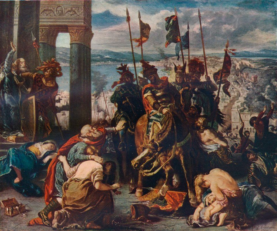 Αλωση της Κωνσταντινούπολης...