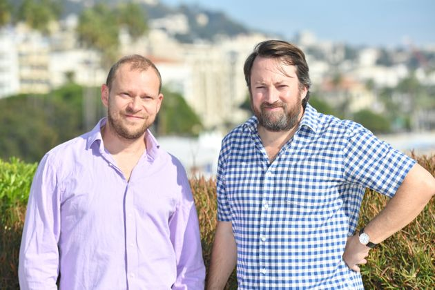 Robert Webb and David Mitchell pictured in