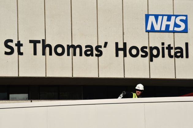 St Thomas' Hospital in central London, where Boris Johnson recovered from
