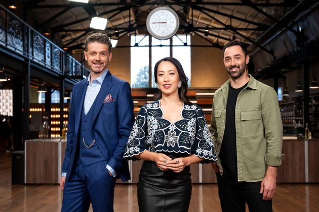 MasterChef Australia: Back To Win judges Jock Zonfrillo, Melissa Leong and Andy