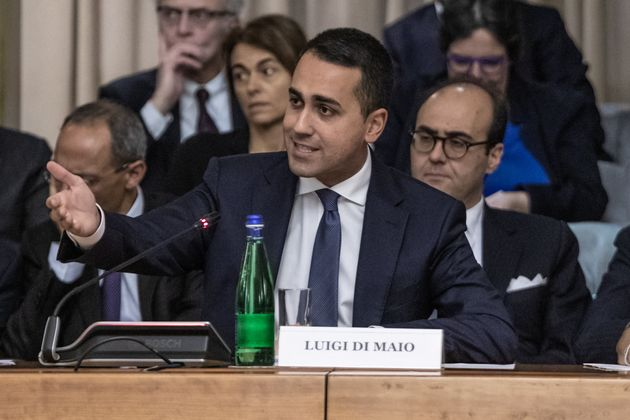ROME, ITALY - MARCH 03, 2020: Foreign Minister, Luigi di Maio during the presentation of the Extraordinary...