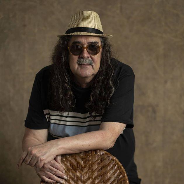 Moraes Moreira (72 anos) foi o primeiroartista a cantar em um trio