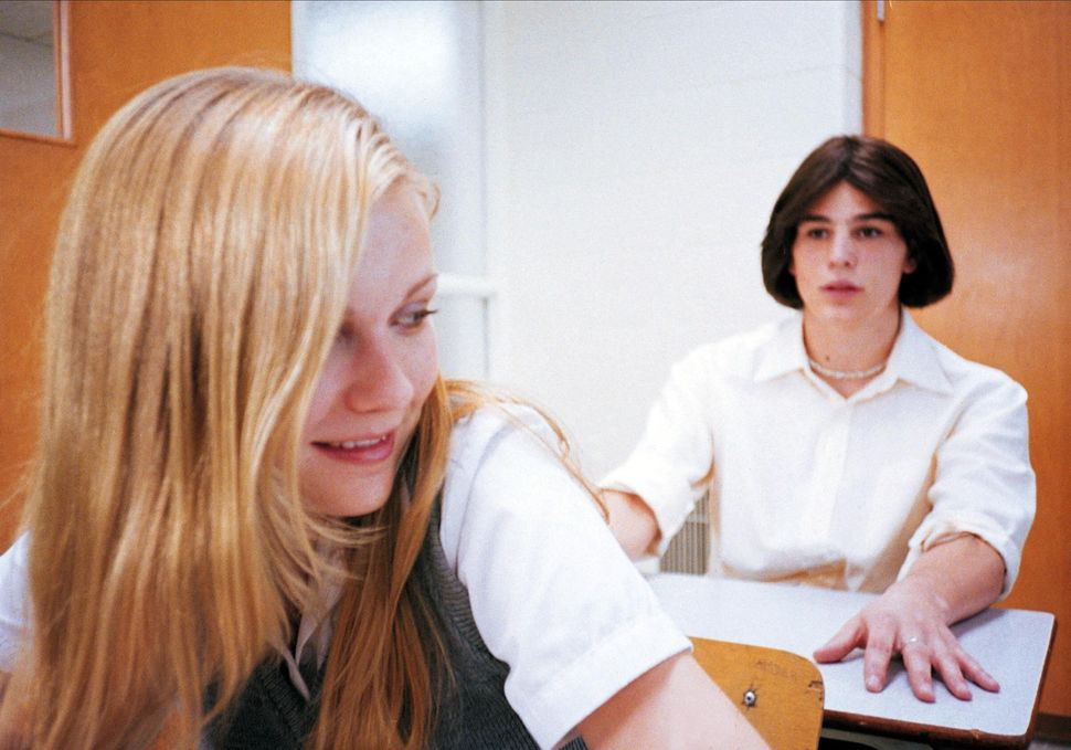 "Kirsten Dunst and Josh Hartnett in ""The Virgin Suicides."""