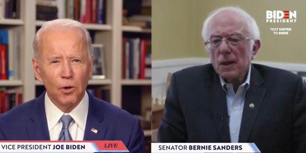 Joe Biden et Bernie