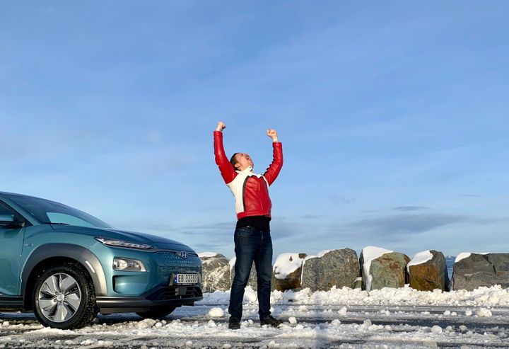 """Daniel Milford Flathagen says Norway is the perfect proving ground for electric vehicles. """"You need those first guys willing"""