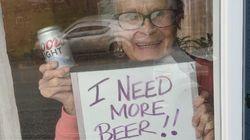 93-Year-Old Woman's Heartfelt Plea For Beer Goes