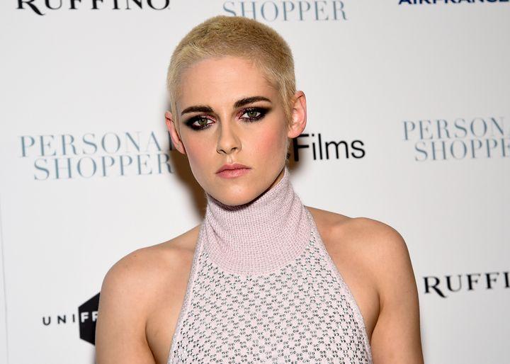 Kristen Stewart, patron saint of the queer buzz cut.