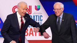 Pour vaincre Trump, Sanders se rallie à la candidature de Biden pour la