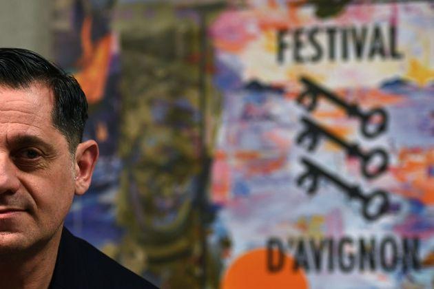Olivier Py, directeur artistique du festival, (ici en mars 2019) se veut optimiste sur la tenue du festival...