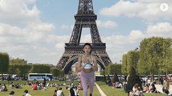 한혜진의 '이 시국 세계여행' 사진들이 화제 된 이유