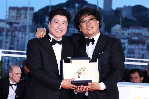 제72회 칸 국제영화제, 배우 송강호와 봉준호