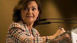 La vicepresidenta Carmen Calvo supera el