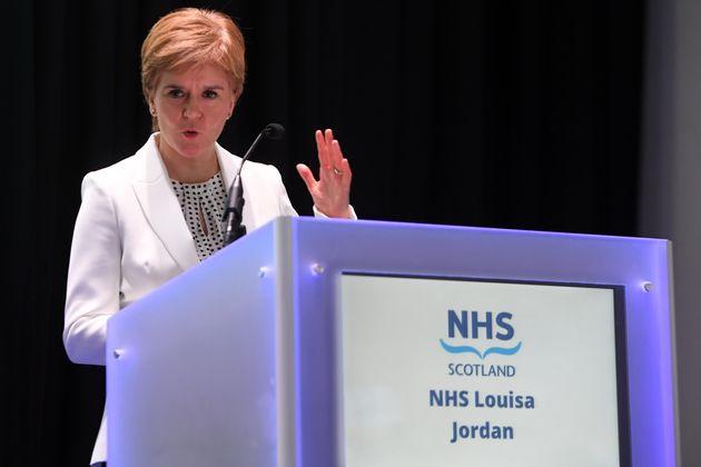 Scotland's First Minister Nicola
