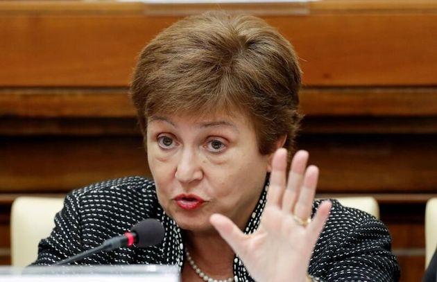 La directora del FMI, Kristalina Georgieva, en una
