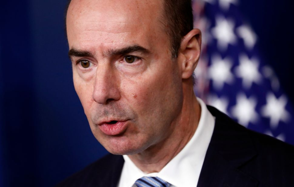 Eugene Scalia would seem like a natural fit to be on Trump's coronavirus task force. Yet though the pandemic has create