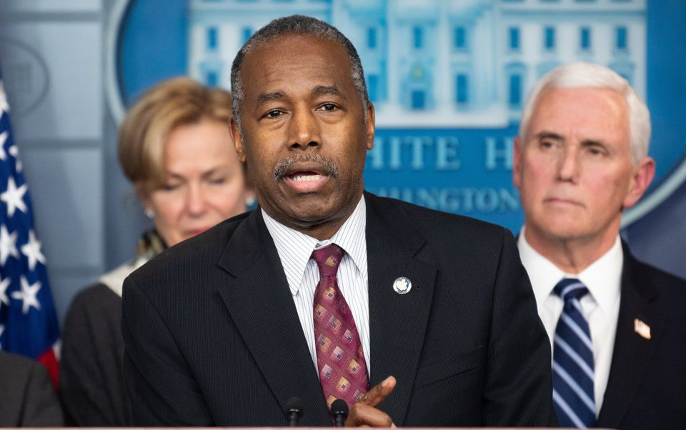 Ben Carson is a member of the White House coronavirus task force, but it's hard to figure out what he's...