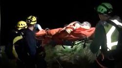 El rescate a una senderista accidentada que se saltó el estado de alarma en