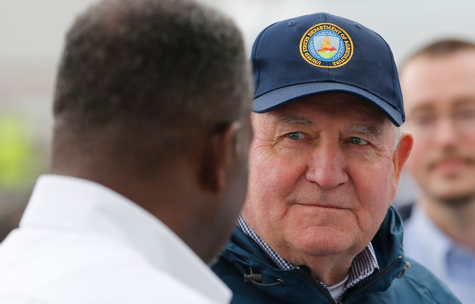 Agriculture Secretary Sonny Perdue has waived certain rules for food aid through various anti-hunger initiatives, including t