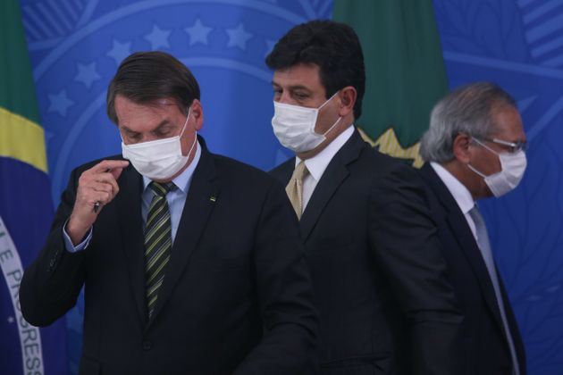 Coordenado porLuiz Henrique Mandetta, Ministério da Saúde ficou de fora de grupo...