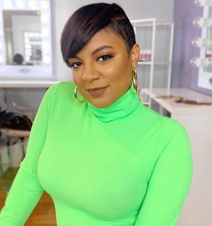 "Tahira Joy Wright, the founder of The Cut Life, says ""short hair is a statement, and it shows the utmost confidence to wear it and wear it well."""