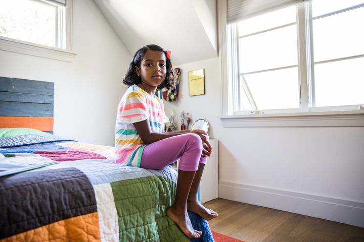 Kids do not necessarily come right out and tell parents and caregivers if they're feeling anxious or upset.