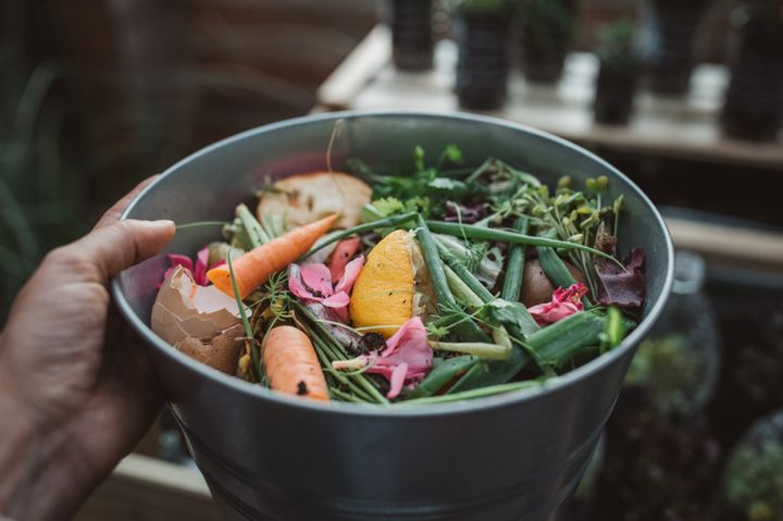 Composting your food waste is an easy way to be kind to the environment.