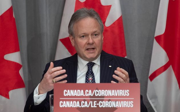 Bank of Canada Governor Stephen Poloz speaks during a news conference in Ottawa, Fri. March 27,