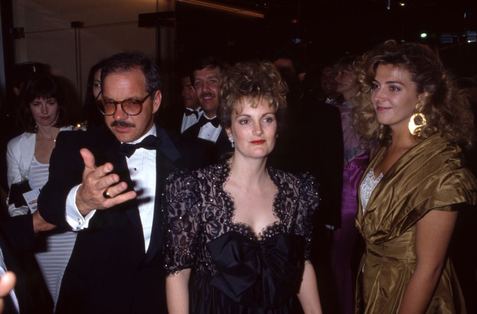 Paul Schrader, Patty Hearst and Natasha Richardson at the Cannes Film Festival in 1988.