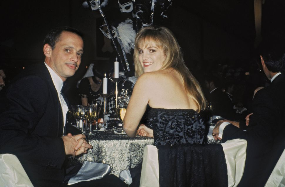 John Waters and Patty Hearst in 1990.