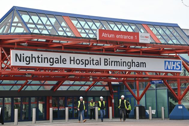 The Birmingham National Exhibition Centre has been transformed into the Nightingale Hospital Birmingham,...