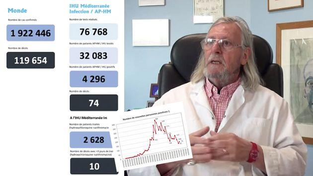 Dans une vidéo, Didier Raoult pronostique la fin prochaine de l'épidémie de coronavirus à