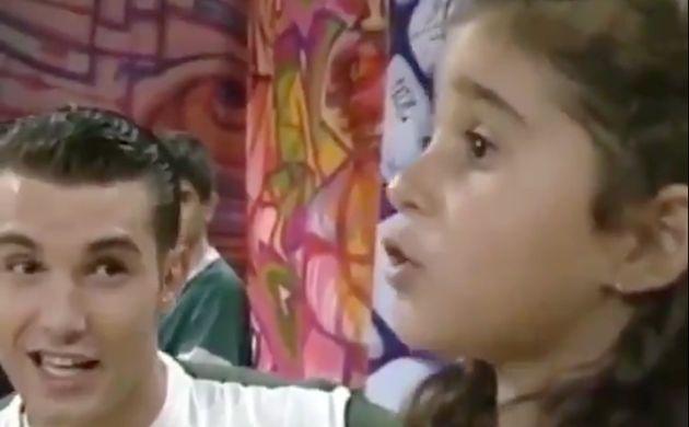 Recuperan un vídeo de Jesús Vázquez y Alba Flores hace 30 años y todo el mundo hace el mismo