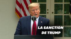 Trump suspend les versements américains à l'OMS pour sa