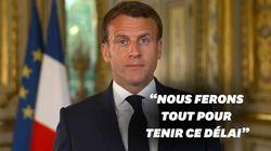 Macron assure que