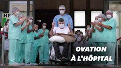 Guéri du coronavirus à 99 ans, cet ancien combattant brésilien a eu droit à une haie