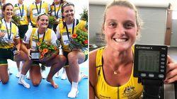 Frustrée par le confinement, cette rameuse australienne bat un record du monde en