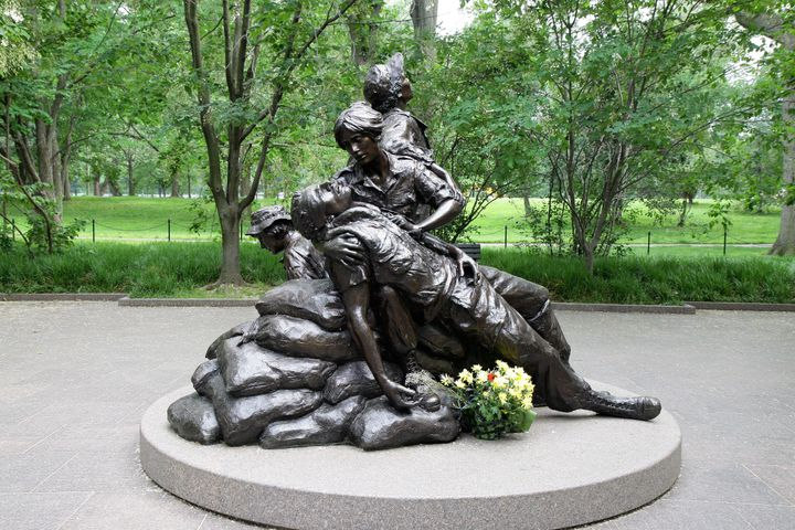 Glenna Goodacrecreated the Vietnam Women's Memorial, which resides on the National Mall in Washington, D.C.