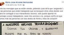 Una usuaria responde a los ataques a los sanitarios con una carta que lleva en Facebook más de 150.000