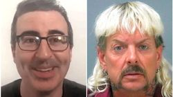 John Oliver Explains Why He Featured Joe Exotic Long Before 'Tiger