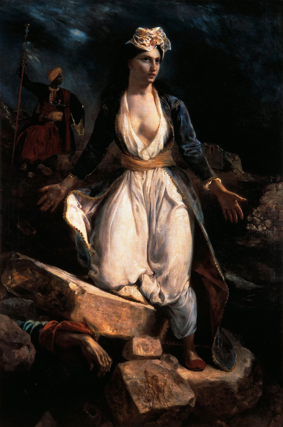 «Η Ελλάδα στα ερείπια...