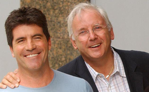 Simon Cowell and Pete
