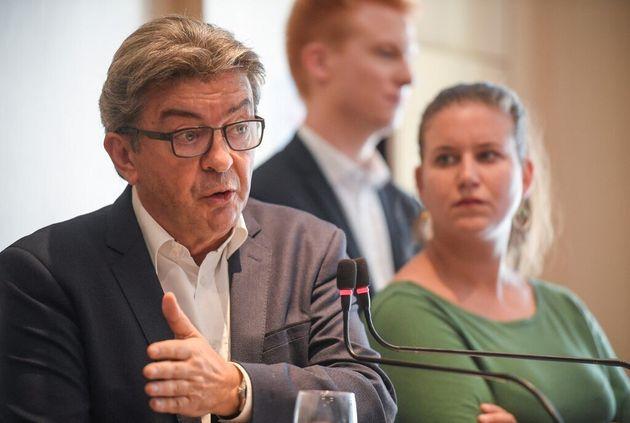 Les députés Insoumis, Jean-Luc Mélenchon et Mathilde Panot (ici en septembre 2019) demandent la gratuité...