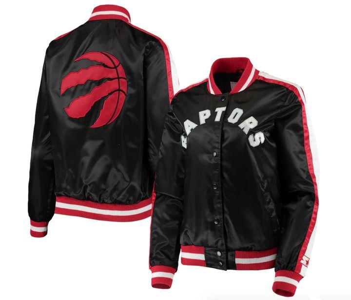 Toronto Raptors Starter Women's Competition Satin Full-Snap Jacket