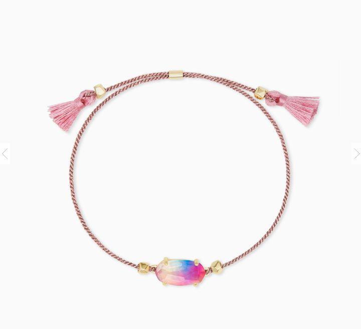 Everlyne Pink Cord Friendship Bracelet by Kendra Scott
