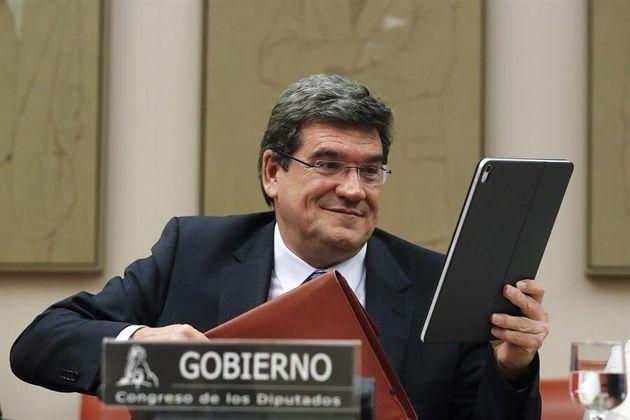 El ministro de Seguridad Social, Inclusión y Migraciones, José Luis