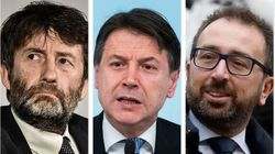 Una call a tre con Franceschini e Bonafede e Conte strappa la tregua sul