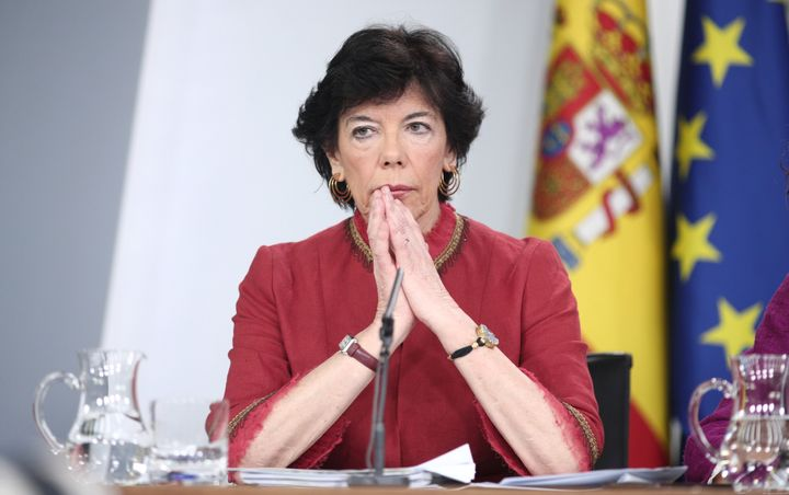 Isabel Celaá, ministra de Educación.