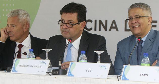 João Gabbardo, Luiz Henrique Mandetta e Wanderson Oliveira: o trio que comanda o Ministério da