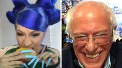 Cardi B, Bernie Sanders Scorch Trump's COVID-19 Response On Instagram