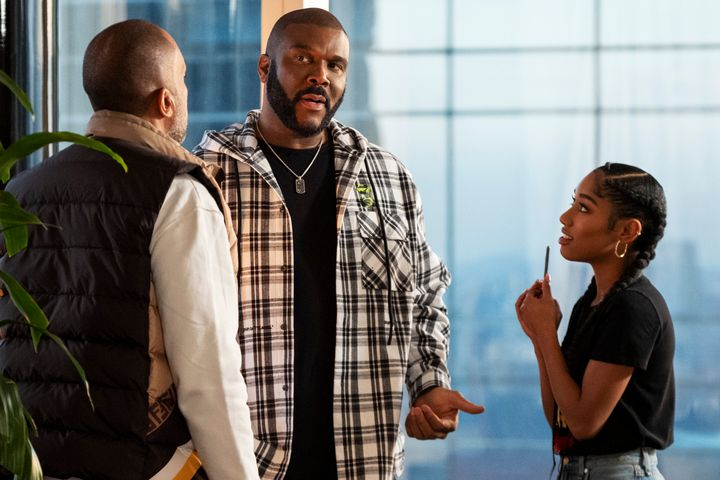 "Tyler Perry makes a guest appearance on Episode 5 of ""#blackAF."""